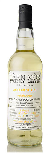 ARDMORE 4YO 2011 CARN MOR STRICTLY LIMITED 46% 70CL