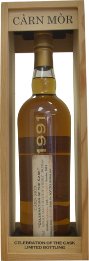 AUCHROISK 1991 25YO CELEBRATION OF THE CASK 45.5% 70CL