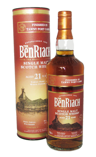 BENRIACH 21YO PORT CASK 46% 70CL
