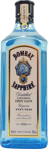 BOMBAY SAPPHIRE GIN 40% 70CL