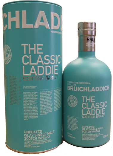 BRUICHLADDICH CLASSIC LADDIE SCOTTISH BARLEY 50% 70CL