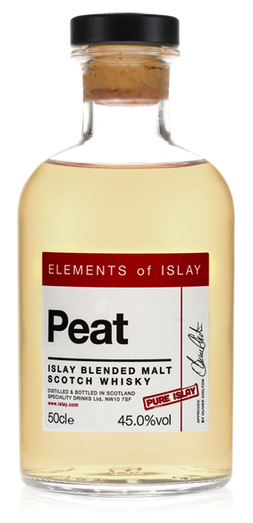 ELEMENTS OF ISLAY PEAT 45% 50CL