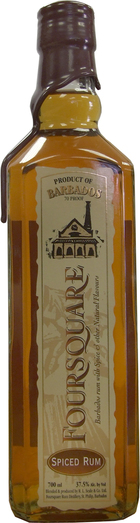 FOUR SQUARE SPICED RUM 37.5% 70CL