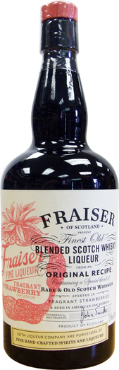 FRAISER STRAWBERRY WHISKY LIQUEUR 27.5% 70CL