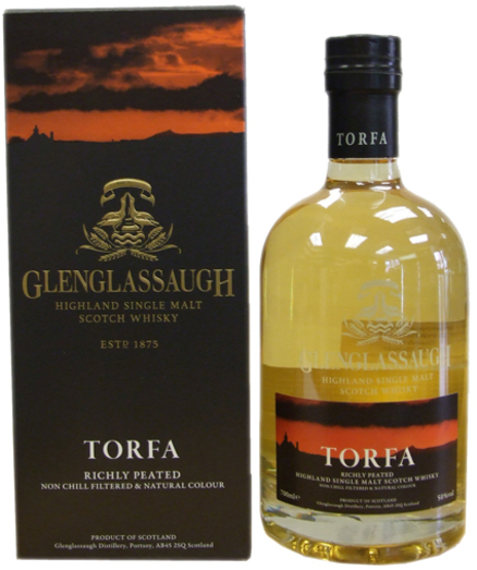 GLENGLASSAUGH TORFA PEATED 50% 70CL