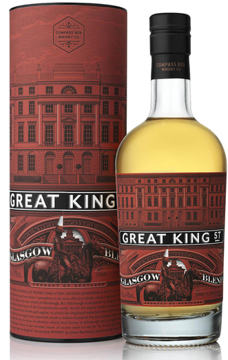 COMPASS BOX GREAT KING STREET GLASGOW BLEND BLENDED WHISKY 43% 50CL