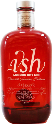 ISH LONDON DRY GIN 41% 70CL