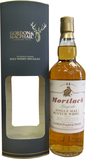 MORTLACH 15YO DISTILLERY LABEL 43% 70CL