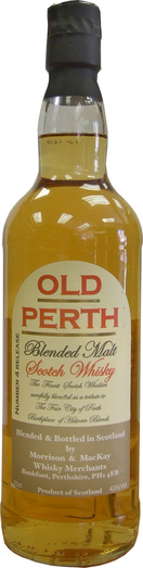 OLD PERTH BLENDED MALT 70CL 43%