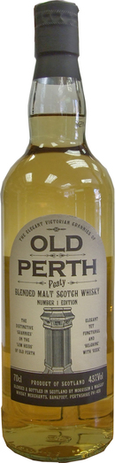 OLD PERTH PEATED BLENDED MALT 43%