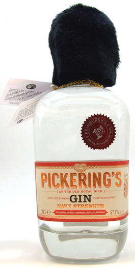 PICKERING'S NAVY STRENGTH GIN 57.1% 70CL