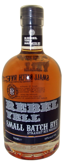 REBEL YELL SMALL BATCH RYE 45% 70CL