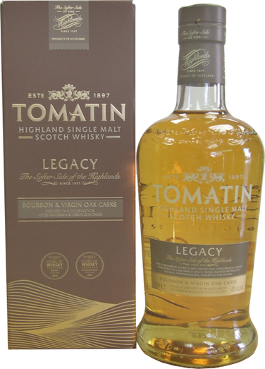 TOMATIN LEGACY 43% 70CL