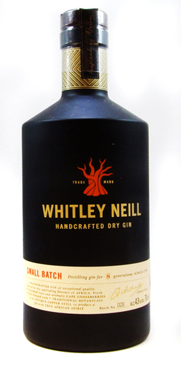 WHITLEY NEILL GIN 43% 70CL
