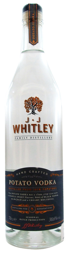 WHITLEY POTATO VODKA 38.6% 70CL