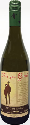 ARE YOU GAME CHARDONNAY 2013 13.5% 75CL