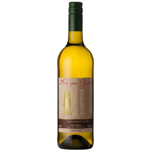 ARE YOU GAME SAUVIGNON BLANC 2013 12% 75CL