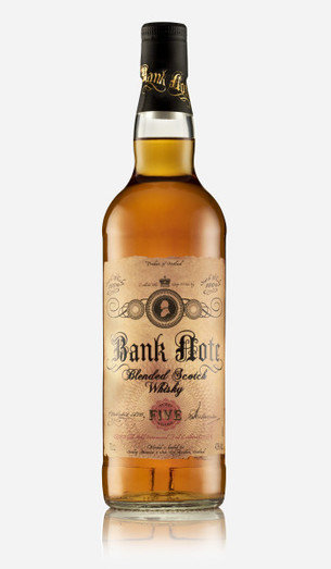 BANK NOTE BLENDED WHISKY 43% 70CL