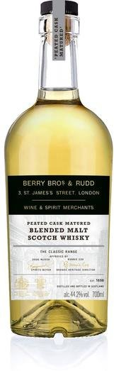 BB&R CLASSIC PEATED CASK BLENDED MALT 44.2% 70CL