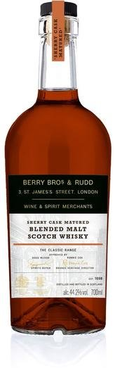 BB&R CLASSIC SHERRY CASK BLENDED MALT 44.2% 70CL