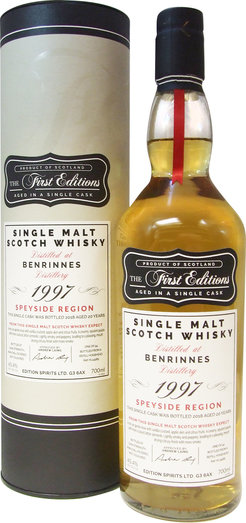BENRINNES 1997 20YO FIRST EDITION 45.4% 70CL