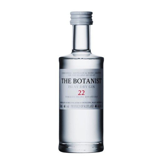 BOTANIST ISLAY DRY GIN 46% MINIATURE 5CL