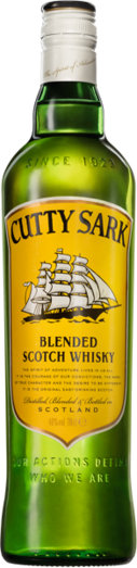 CUTTY SARK ORIGINAL BLENDED SCOTCH WHISKY 40%