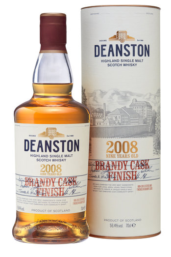 DEANSTON 2008 BRANDY FINISH 56.4% 70CL
