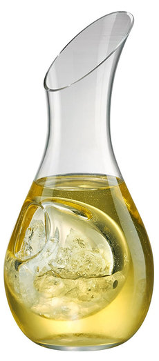 DECANTER - SOMMELIER WHITE 75CL WITH COOLING COMPARTMENT