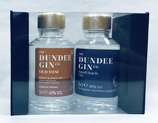 DUNDEE GIN SET - 2 x MINIATURE GIFT BOX