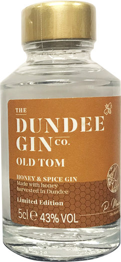 DUNDEE OLD TOM HONEY & SPICE GIN 43% 5CL