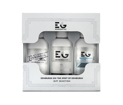 EDINBURGH GIN MINIATURE SET (3*5CL)
