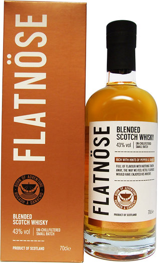 FLATNOSE BLENDED WHISKY 43% 70CL
