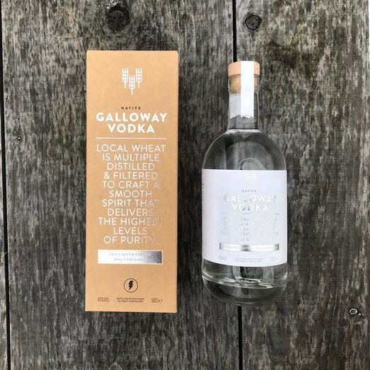GALLOWAY VODKA LIMITED EDITION 40% 50CL
