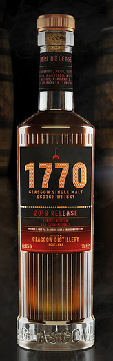 GLASGOW DISTILLERY 1770 LIMITED EDITION 2019 RELEASE 46% 50CL