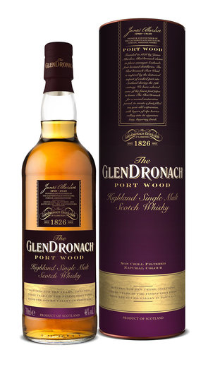GLENDRONACH 10YO PORT WOOD 46% 70CL