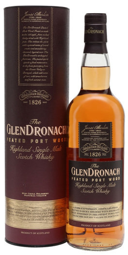 GLENDRONACH PEATED PORT FINISH 46% 70CL