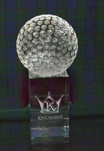 GOLF BALL ON PLINTH *END OF LINE - SPECIAL OFFER