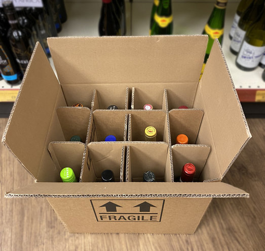 MIXED CASE 12 RED AND WHITE WINES £90