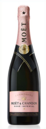 MOET & CHANDON BRUT ROSE IMPERIAL NON VINTAGE 12% 75CL