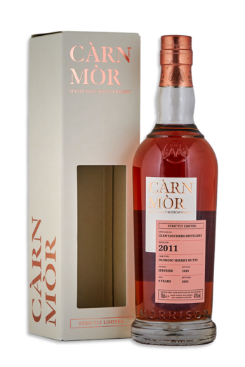 GLENTAUCHERS 2011 10YO OLOROSO SHERRY CASK CARN MOR STRICTLY LIMITED 47.5% 70CL