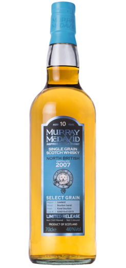 NORTH BRITISH 2007 10YO KOVAL BOURBON CASK MURRAY MCDAVID 46% 70CL