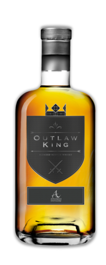 OUTLAW KING BLENDED SCOTCH WHISKY 40% 70CL