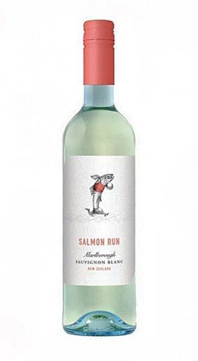 SALMON RUN SAUVIGNON BLANC 2016 13% 75CL