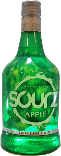 SOURZ APPLE 15% 70CL