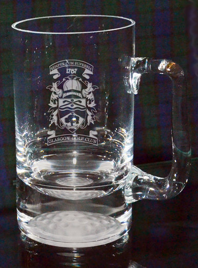 TANKARD 450ML WITH GOLF BALL IN BASE