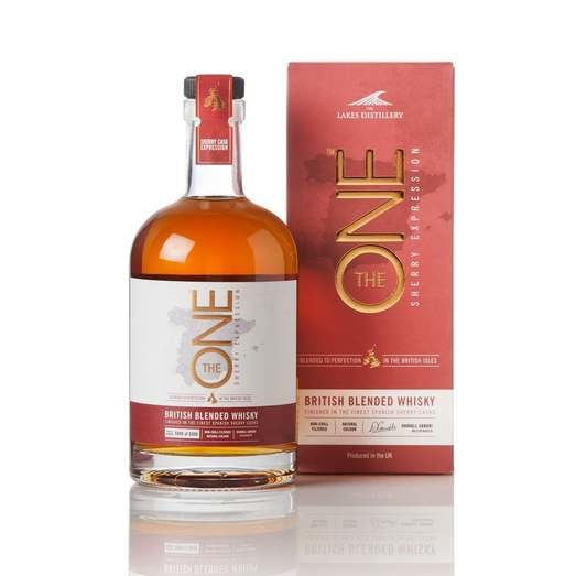 THE LAKES THE ONE SHERRY EXPPRESSION ENGLISH BLENDED WHISKY 46.6% 70CL