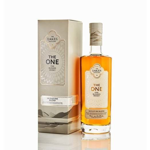 THE LAKES THE ONE SIGNATURE ENGLISH BLENDED WHISKY 46.6% 70CL