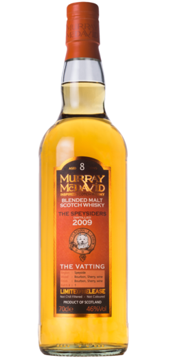 THE SPEYSIDERS 2009 8YO MURRAY MCDAVID 46% 70CL