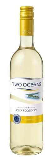 TWO OCEANS CHARDONNAY 2018 13% 75CL
